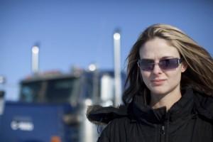 Ice Road Truckers TV show scene