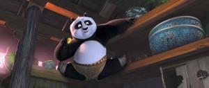 Kung Fu Panda movie scene