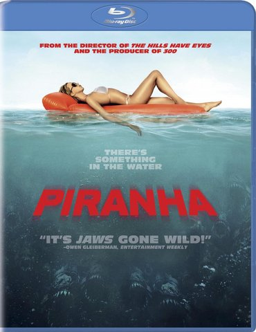 Piranha Blu-ray box