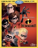 The Incredibles Blu-ray box
