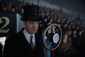The King's Speech movie scene with Colin Firth