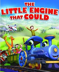 The Little Engine That Could DVD box