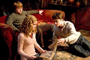 Harry Potter and the Half-Blood Prince movie scene