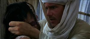 Raiders of the Lost Ark movie scene