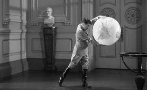 The Great Dictator movie scene