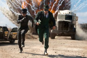 The Green Hornet movie scene