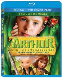 Arthur and the Invisibles 2 & 3 Blu-ray box