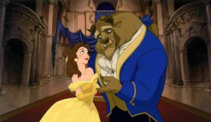 Beauty and the Beast movie scene