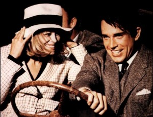 Bonnie and Clyde movie scene