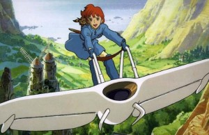 Nausicaa of the Valley of the Wind movie scene