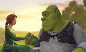 Shrek movie scene
