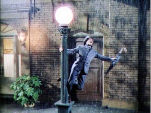 Singin' In the Rain movie scene