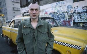 Taxi Driver movie scene