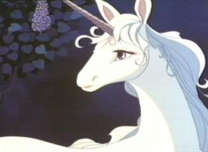 The Last Unicorn movie scene