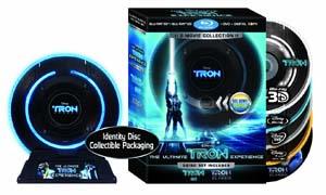 Tron: Legacy Limited Edition Blu-ray 3D box