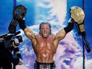 WrestleMania scene