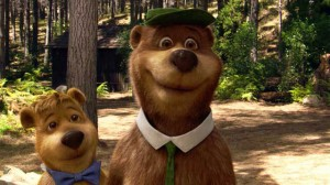 Yogi Bear movie scene