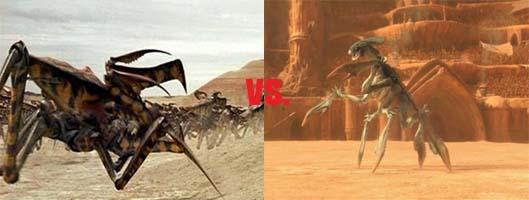 Alien Arachnid vs. Acklay
