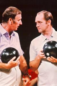 Celebrity Bowling scene