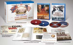 Gettysburg/Gods and Generals Limited Collectors Edition Blu-ray box