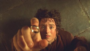 The Lord of the Rings Fellowship of the Ring movie scene