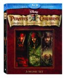 Pirates of the Caribbean Trilogy Blu-ray box