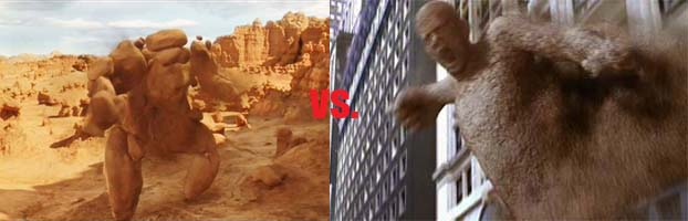 Rock Monster vs. Sandman