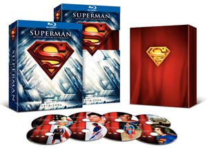 Superman The Motion Picture Anthology Blu-ray box