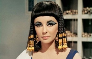 Cleopatra movie scene