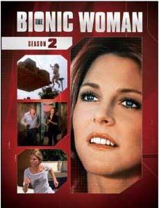 The Bionic Woman Season 2 DVD box