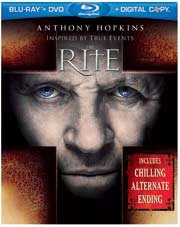 The Rite Blu-ray box