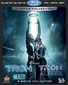 Tron Legacy/Tron Five-Disc Blu-ray box