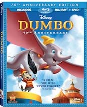Dumbo 70th Anniversary Edition Blu-ray/DVD Combo