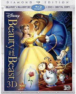 Beauty and the Beast Blu-ray 3D box