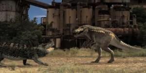 Dinocroc Vs. Supergator movie scene