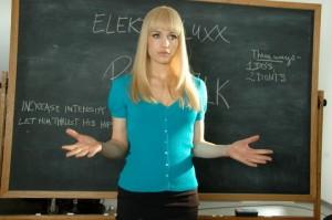 Elektra Luxx movie scene