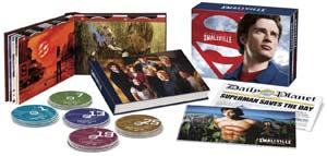 Smallville: The Complete Series DVD box
