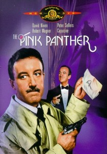 The Pink Panther DVD box