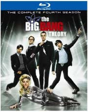 The Big Bang Theory Season 4 Blu-ray box