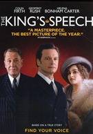 The King's Speech DVD box