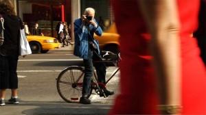 Bill Cunningham New York movie scene