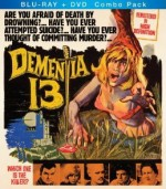 Dementia 13 Blu-ray/DVD combo box