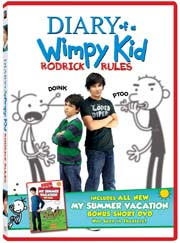 Diary of a Wimpy Kid: Rodrick Rules DVD box