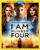 I Am Number Four Blu-ray/DVD combo