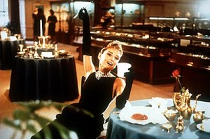 Breakfast at Tiffany's movie scene