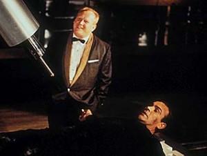 Goldfinger movie scene