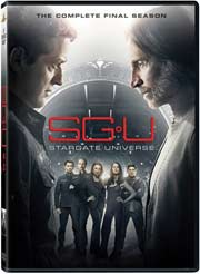 Stargate: Universe Season 2 DVD box