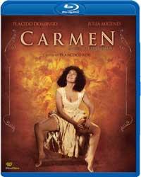 Carmen Blu-ray box