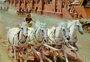 Ben-Hur movie scene