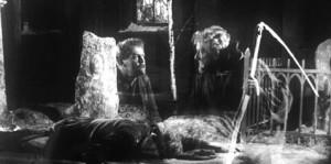 The Phantom Carriage movie scene